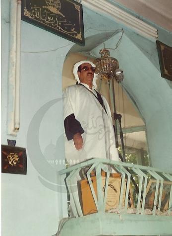 ماموستا ملا محمد ربیعی در مسجد شافعی
